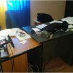 Ajutor pentru algocalmin: Bătaie și sediu devastat la Primăria Gălbinași / Video