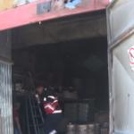 Călărași: A ars un punct termic transformat în depozit de materiale de construcții – VIDEO