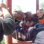 Actualizat – Dichiseni: Femeie salvată din fântână / Video